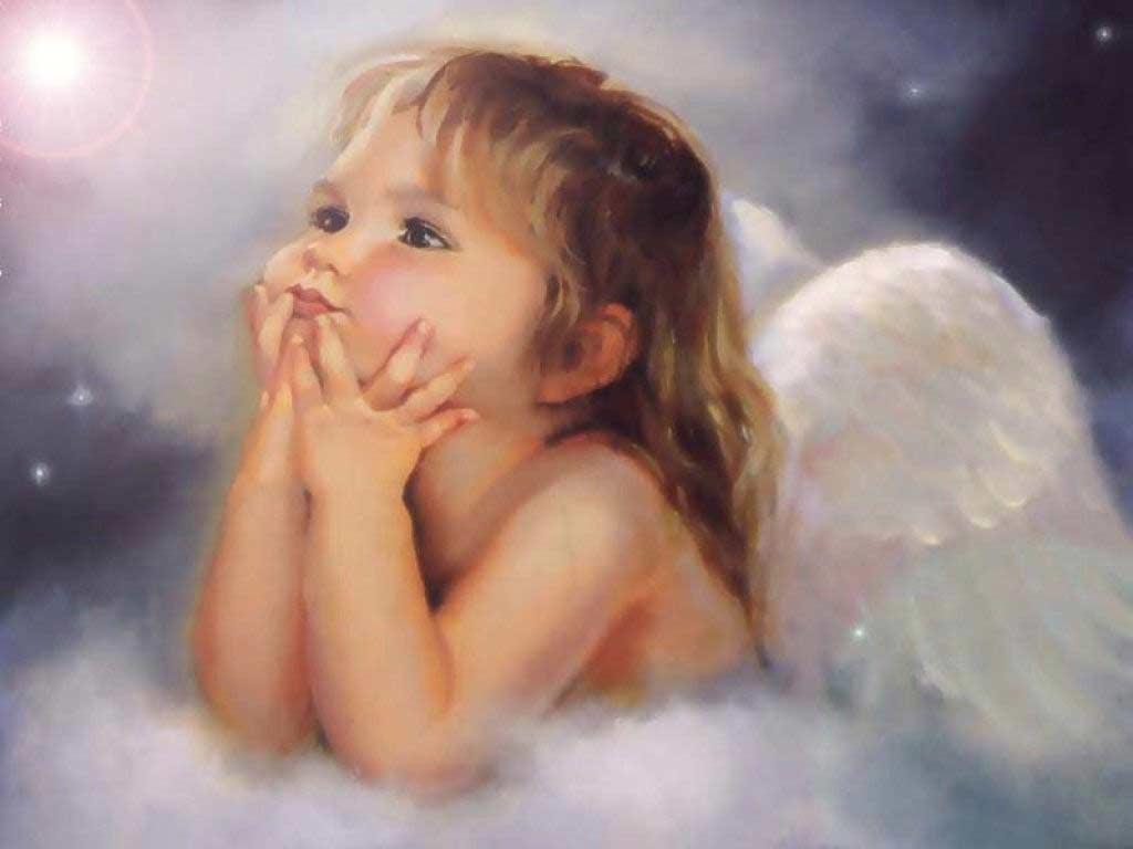 Cute Baby Angel Wallpaper Fantasy Wallpapers